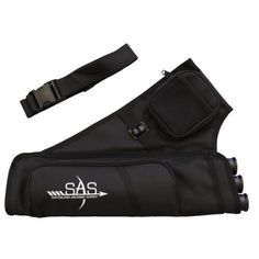 SAS 3 Tube Belt Quiver with Multiple Pockets
