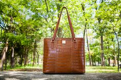Enter our August Giveaway and score a perfect workday-to-weekend bag - the Croco Lexington Shopper. Sign up to win at https://www.facebook.com/dooneyandbourke?v=app_150794994973742=1