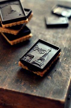 Paris cookies ~ oh cute!