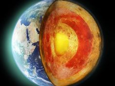 Crushing Pressures Start to Reveal the Truth About Earth's Core. Iron makes up the bulk of our planet's core. But now, researchers are getting closer to figuring out what else swirls at the center of the Earth Earth's Core Earth Science, Science Nature, Earth's Mantle, Hollow Earth, Earth Photos, 60 Degrees, The More You Know, Our Planet, Planets