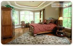 5 Area Rug Rules you need to know and What not to do! Rug Rules, Home Staging Tips, Bedroom Photos, Bedroom Carpet, Bedroom Rugs, Home Improvement Projects, Windows And Doors, Hardwood Floors, Living Spaces