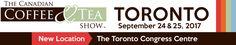 The Canadian Coffee & Tea Show Sep 24 & 25 Toronto Congress Centre http://www.lavahotdeals.com/ca/cheap/canadian-coffee-tea-show-sep-24-25-toronto/229113?utm_source=pinterest&utm_medium=rss&utm_campaign=at_lavahotdeals