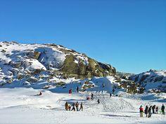 Serra de Estrela- skiing in Portugal?!! :)
