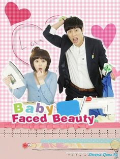 """<3 Baby Faced Beauty  <3  + Jang Na Ra and Daniel Choi +  this unexpectedly became one of my favorite Korean dramas. I would give this pair the """"cutest couple"""" award. Together they are too cute for words. Though in the first half of the series Jang Na Ra's hair cut really bothered me."""