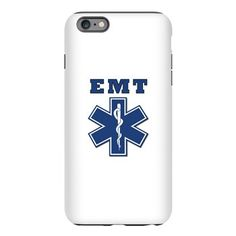 EMT Blue Star Of Life* iPhone Plus 6 Tough Case
