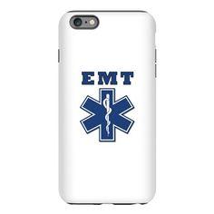 EMT Blue Star Of Life* iPhone Plus 6 Tough Case