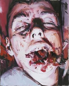 JENNY SAVILLE Witness, 2009 Oil on canvas 106 5/16 x 86 3/8 inches (270 x 219.5 cm)