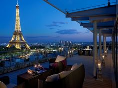 Suit(e)-Up Lounge - Suite Shangri La - Shangri La Hotel Paris