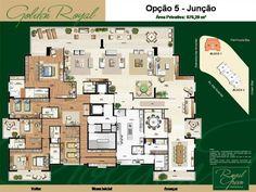 Apartamentos a venda na(o) Barra da Tijuca, condominio Royal Green-