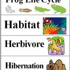 This file contains 38 Animal Word Wall Cards on 10 pages. The science words and vocabulary terms have a corresponding picture on each card.The ...