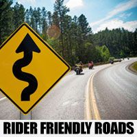 Best Motorcycle Roads to Ride on Your Way to the Sturgis Rally