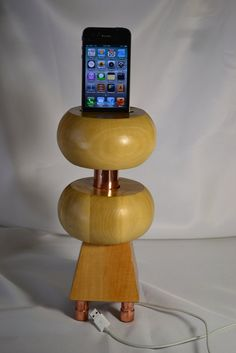 iPhone Acoustic Speaker Dock   iPod Acoustic by yoursweetcorner, $85.00  http://www.etsy.com/listing/121161381/iphone-acoustic-speaker-dock-ipod