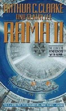 book cover of     Rama II      (Rama, book 2)    by    Arthur C Clarke and     Gentry Lee
