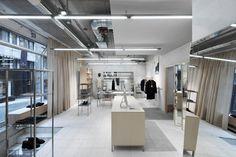 Beautiful Fashion Retail Interiors by Arrhov Frick | Yellowtrace.