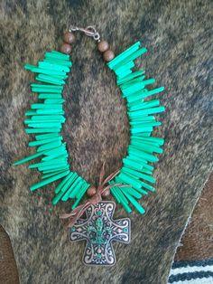 Chunky western jewelry. Howdy Darlin on fb.