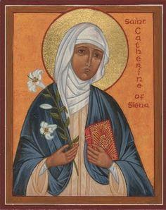 icon of Catherine of Siena