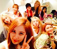 Girls' Generation Throws a Birthday Party for Seohyun With Dinner and Karaoke