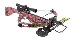 women's crossbow | Parker Challenger Pink Crossbow With 4X Multireticle Scope Package at ...
