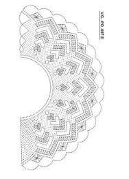 Resultado de imagen de bobbin lace fan pattern