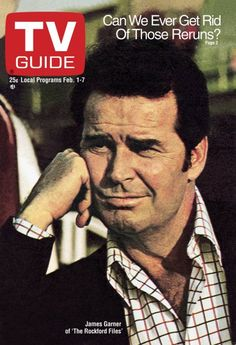 THE ROCKFORD FILES - James Garner - 1975 - TV GUIDE