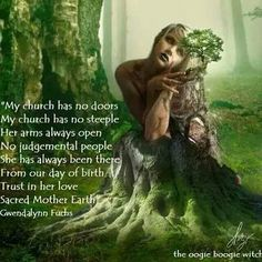Though the poem in this post is nice, I do believe that it still displays judgement & segregation towards the Churches, yes most pagans have felt ostracized by society and/or the church but becoming judgemental or having 'us versus them' mentality will not help you stay on the path of your True Purpose, or in contact w/your Higher Self.  Both prayer & meditation r important, during prayer we kneel out of respect & trust in the Higher Powers of God, during neditation we realise we are also…