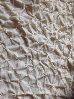 Kanoko binded fabric. Traditional Japanese shibori technique