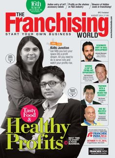 The Franchising World August 2014 edition - Read the digital edition by Magzter on your iPad, iPhone, Android, Tablet Devices, Windows 8, PC, Mac and the Web.
