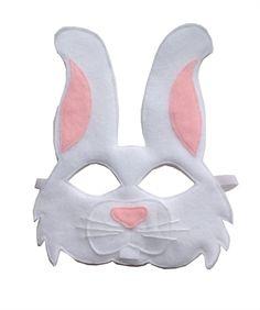 Opposite of Far - White Rabbit Mask