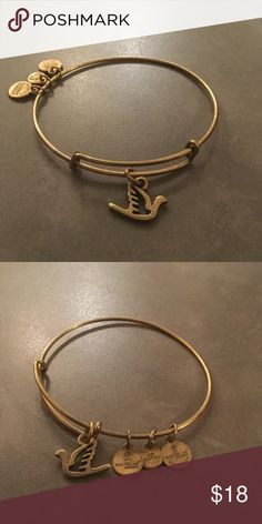 Alex and Ani Dove Gold. Gently worn. Alex & Ani Jewelry Bracelets
