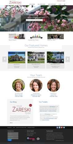 YourZareskiTeam.com If you would like a quote on custom real estate website, email us (http://realestatetomato.com/contact) or call: 530-872-0892. Talk soon!