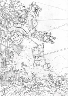 """- Inspired by Voltron: Legendary Defender - Traditional Pencil - Approximately 11.5"""" x 16.5"""" - Signed Original DreamWorks Voltron Legendary Defender © 2016 DreamWorks Animation LLC. TM World Events Pr"""