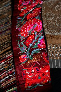 chinese embroidery | Flickr - Photo Sharing!