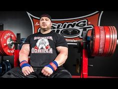 getlinkyoutube.com-Eric Spoto Demonstrates the Bamboo Bar Bench Press