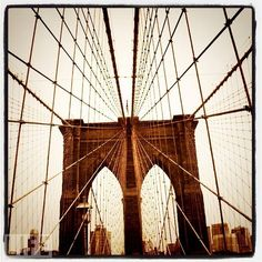 I have a pic just like this on my phone. Brooklyn Bridge. : )