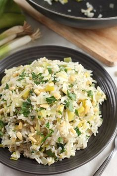 Prasorizo (Greek Rice With Leeks) | 30 Quick Dinners With No Meat