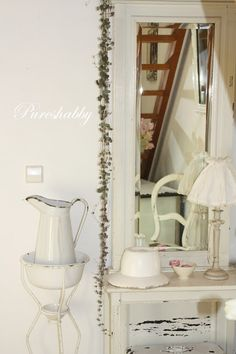 Pitcher and basin (from Pureshabby)