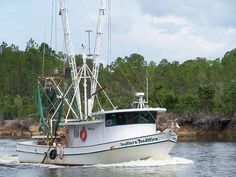 Shrimp boat...SOUTHERN TRADITION