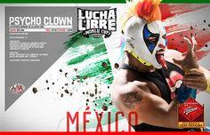 Psycho Clown, representante del equipo AAA MEX