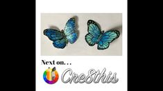 Make a Paper Butterfly Pin