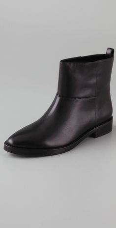 Theyskens' Theory Anise Flat Booties thestylecure.com