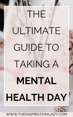 Even if you don't struggle with mental illness, mental health days might still be a necessity. They allow you to reset, recharge and take a much-needed break. Here's when and how to take a mental health day if (and when) you need one! Mental Health Day Off, Mental Break, Tomato Nutrition, Coconut Health Benefits, Perfect Smile, Mental Illness, Healthy Weight, Fun Workouts, How To Stay Healthy
