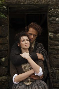 Jamie and Claire ( Sam Heughan and Caitriona Balfe) - Outlander