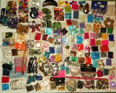 HUGE LOT OF BEADS VARIOUS SIZES JEWELRY MAKING 9.99SUPPLIES FINDINGS PENDANTS CHARMS #Assorted