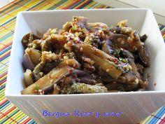 Berenjena coreana al vapor: Gaji-namul | Cocinar en casa es facilisimo.com