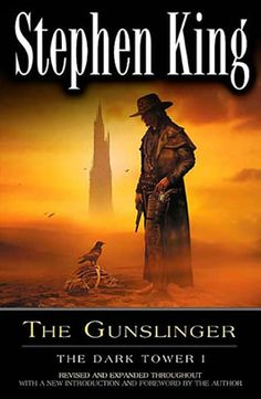 The first and best (followed closely by The Drawing of the Three) book in The Dark Tower series by Stephen King. The series as a whole will go down as his masterpiece.