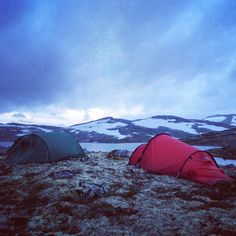 Beautiful night. Hardangervidden