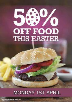 50 % off Food in Havana Poster!