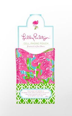Lilly cell phone beach cover up!