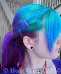 TyDye -  Manic Panic Hair Colour -  Atomic Turquoise  Special Effects -  Deep Purple