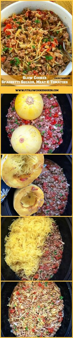 Slow cooker / crockpot whole30 paleo - You are here: Home / Whole 30 / Slow Cooker Spaghetti Squash, Meat & Tomatoes (Paleo, Whole30) SLOW COOKER SPAGHETTI SQUASH, MEAT & TOMATOES (PALEO, WHOLE30) November 7, 2017 By Fit SlowCooker Queen 5 Comments (Edit) skip to recipe Spaghetti squash cooks in the slow cooker with your preferred ground meat, diced tomatoes, and seasonings for this simple yet healthy recipe.